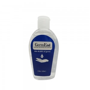 Hand Sanitizer Gel 75% Alcohol w/ Aloe Vera 3.38oz (100ml)