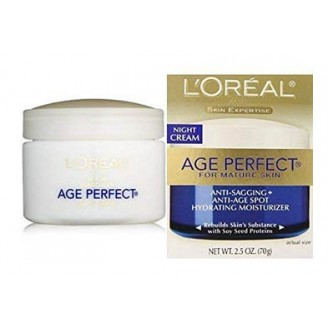 L'OREAL DERMO EXP AGE PREFECT NIGHT CRM欧莱雅抗皱 面霜
