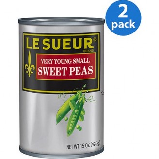 Le Sueur Very Young Small Sweet Peas, 15 oz