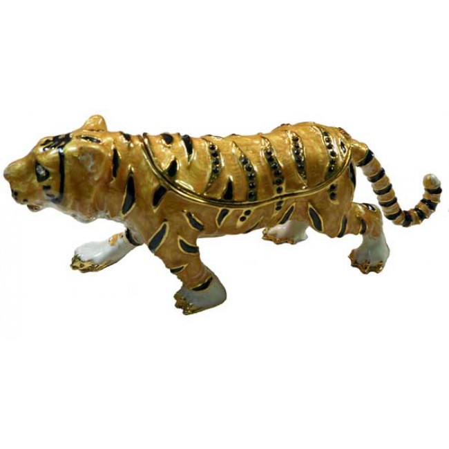 JF2729 Tiger Trinket Jewelry Box