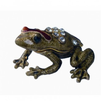 JF3154 Frog Trinket Jewelry Box