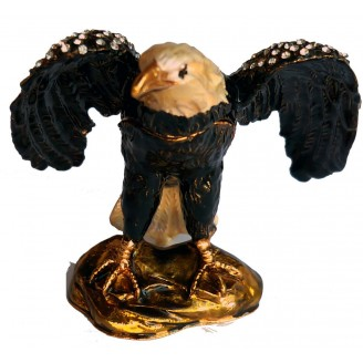 JF4391 Flying Eagle Trinket Box