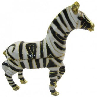 JF8727 Zebra Trinket Box