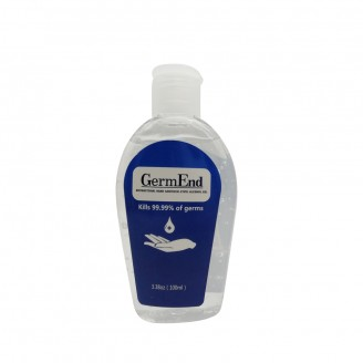 3.38oz (100ml)  Sanitizer Gel 75% Alcohol w/ Aloe Vera