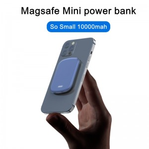 Battery Magneti Wireless Portable Charger, 20W Magnetic Power Bank PD Quick Cell Phone Charger, 5000mAh/10000mAh USB Back Up Power Supply, Compatible with iPhone 12/12 Mini/Pro/Max/iwatch/AirPods